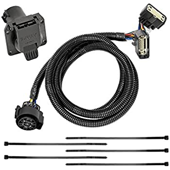 amazon com tow ready 118540 t one connector assembly for fordtekonsha 118272 7 way tow harness wiring package