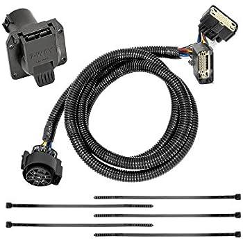 tekonsha 118272 7-way tow harness wiring package