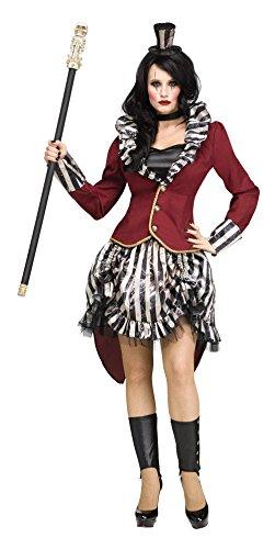 Freak Show Circus Ringmistress Adult (Creepy Circus Costumes)