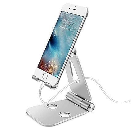 Amazon.com: Soporte de teléfono celular soporte, Tablet ...