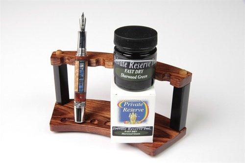 (Fountain Pen Ink Bottle - Sherwood Green - Fast Dry)