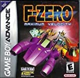 F-Zero Maximum Velocity - Nintendo Game Boy Advance Cartridge Racing Action - Certified Pre-Played