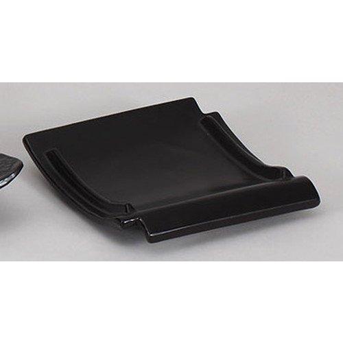 mkd-896-4-82e-ceramic-board-black-heat-resistant-roof-tile-shaped-ceramic-plate-19-x-185-x-35-cm-dir