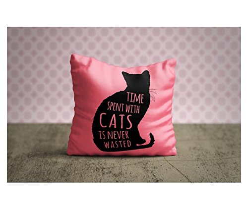 Cat Pillow Case, Cat Pillow Cover, Cat Throw Pillow, Animal Pillow Case, Decorative Pillow Case, Cat Lover Gift, Cat Home Decor, Cat Bedding