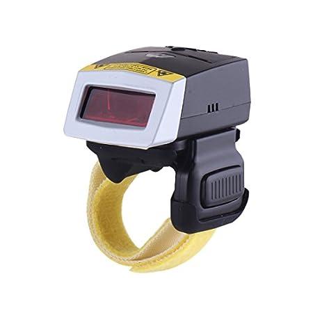 Array - mercurymall   mini wireless bluetooth ring barcode scanner finger      rh   amazon co uk