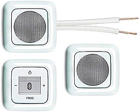 cache radio avec d/étecteur de phase EBROM pour un montage facile de la radio Busch J/äger 8217U Reflex SI Radio encastrable Bluetooth encastrable avec unit/é radio 8217 U cadre