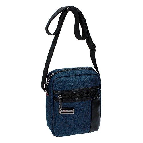 Movom Padding Bandolera, 2.81 Litros, Color Azul