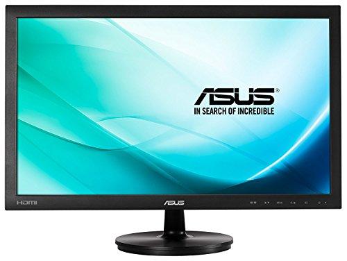 Asus 23.6-inch 59.9cm Wide Screen 16:9 LED Monitor 1920x1080 Full HD HDMI, DVI-D, VGA - Black