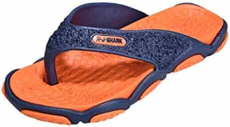 acd24434a38fd VonVonCo Summer Men s Open Toe Slippers Fashion Beach Shoes Massage  Bathroom Flip Flops