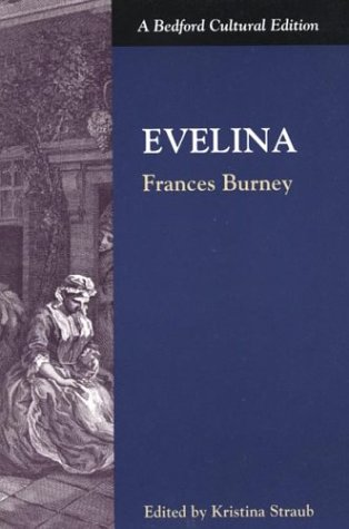 Book cover for Evelina