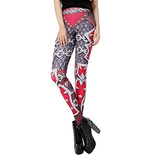 Sexy Fitness Leggins Wow legins Printed Slim Women Leggings Clothing Bottoms -