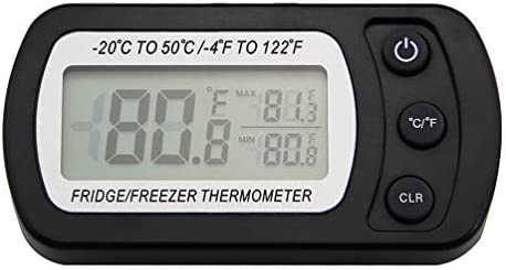 amtast Digital termómetro de refrigerador nevera congelador ...