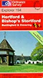 Hertford and Bishop's Stortford (Explorer Maps)