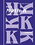 Saxon Math K Homeschool: Complete Kit 1st Edition