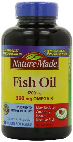 031604017149 - Nature Made Fish Oil Omega-3 1200mg, (180 Liquid Soft Gels) carousel main 3