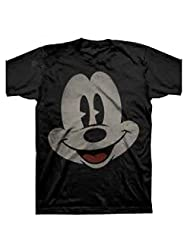 Disney Mickey Mouse Smile Face Boys Fashion Top T shirt