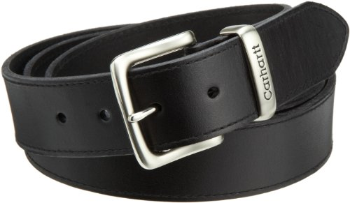 (Carhartt Men's Big and Tall Signature Casual Belt, Black 50 )
