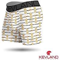 Cueca Boxer Kevland Gold Pineapple