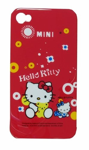 Hello kitty mini snap on at&T iphone 4 back case