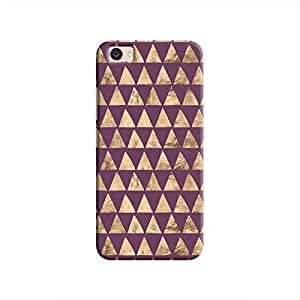 Cover It Up - Brown Purple Triangle Tile V5 Plus Hard Case