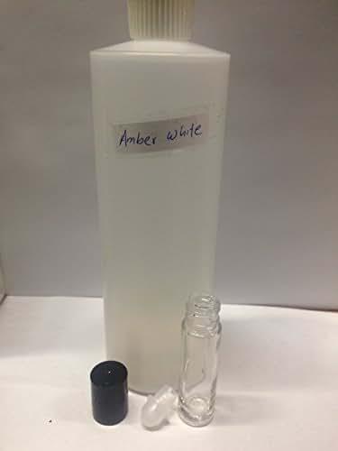 amber white uncut pure oil 1/3oz 10ml