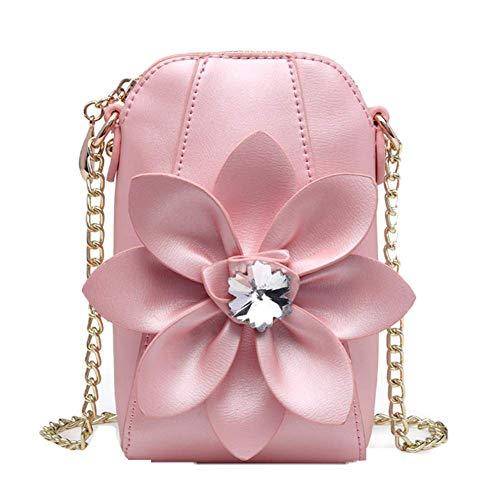 à épaule porté OHmais PU fille femme bandoulière Sac main Pink en Sac pour Cuir Sac IxqqTnar5