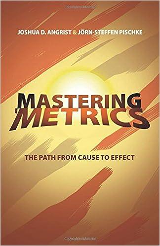 Mastering Metrics book cover