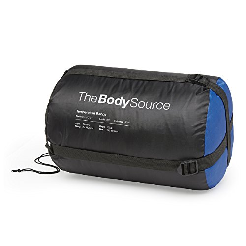 The Body Source Mummy Sleeping Bag 300GSM For