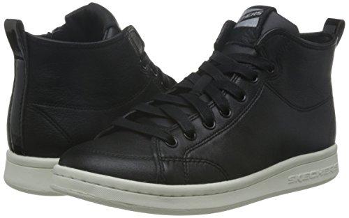 Sneakers midtown Omne White Black Skechers Femme Hautes Z5Eqnw4
