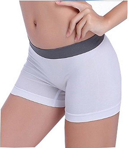 Yoga Cycliste Sport Ajusté Pants Court Couleurs Blanc Footing Shorts 9 Stretch Moulant Acme wqHIY5