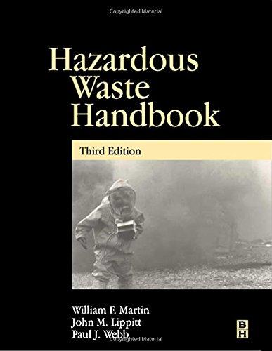 Hazardous Waste Handbook, Third Edition
