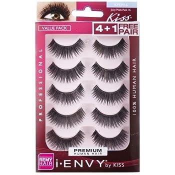 835873366b7 Amazon.com : i ENVY by Kiss Strip Eyelashes KPE67 So Wispy 08 : Beauty