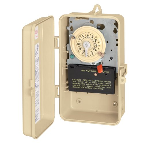 Intermatic T101R3 Timer Switch In Metal Enclosure (Intermatic Steel Switch)