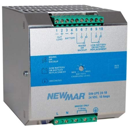 Newmar 24VDC 20A DIN Power Syst ()