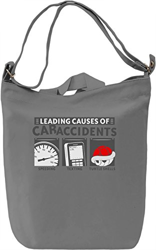 Car Accidents Borsa Giornaliera Canvas Canvas Day Bag| 100% Premium Cotton Canvas| DTG Printing|