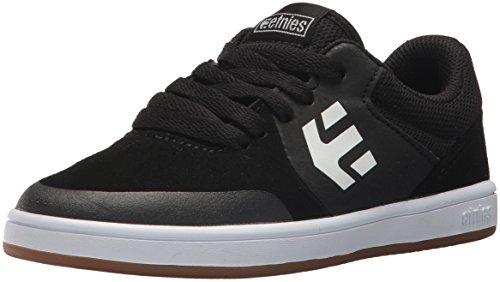 Etnies Unisex Marana Skate Shoe, Black/Gum/White, 5.5C Medium US Big ()