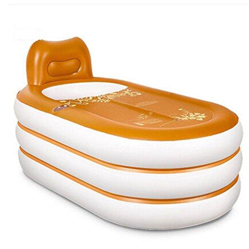 LQQGXL,Bath Inflatable bathtub European electric pump hand pump to keep warm insulation temperature adult children family bathtub folding bathtub Inflatable bathtub by LQQGXL