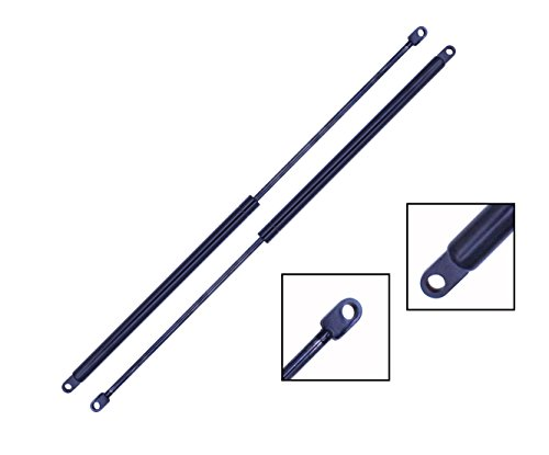 (2 Pieces (SET) Tuff Support Liftgate Lift Supports 1984 To 1990 Plymouth Voyager Mini Van / Dodge Caravan Mini Van / 1990 Chrysler Town & Country)