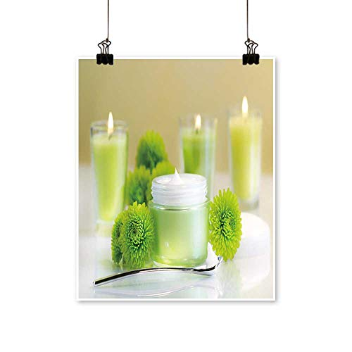 Modern Painting Moisturizing face Cream with Candles Bedroom Office Wall Art Home,20