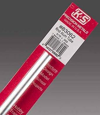 Amazon Com K S Precision Metals 83062 Round Aluminum Tube 5 16