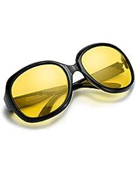 Oversized Night Vision Driving Glasses for Women,...