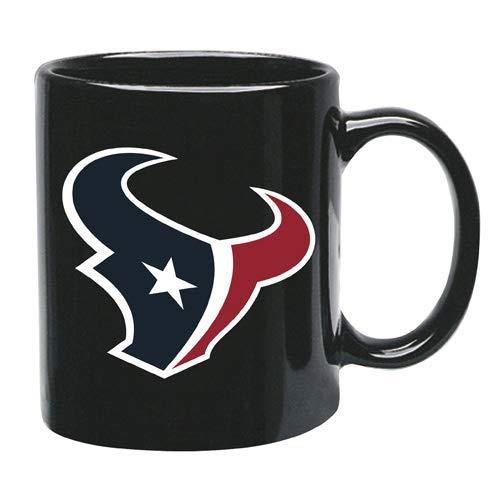 Memory Company Houston Texans 15 oz Black Ceramic Coffee Cup