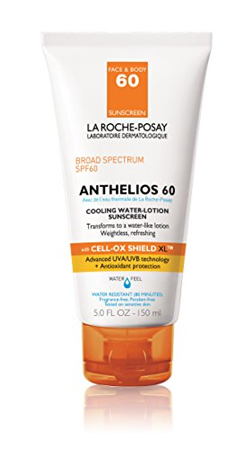 Price comparison product image La Roche-Posay Anthelios Cooling Water-Lotion, Body and Face Sunscreen with Antioxidants, 5 Fl. Oz.
