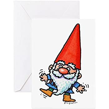 Amazon Cafepress Gnome Playground Greeting Card Note Card