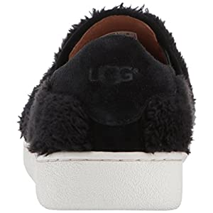 UGG Women's Ricci Slip-On Sneaker, Black, 7.5 M US