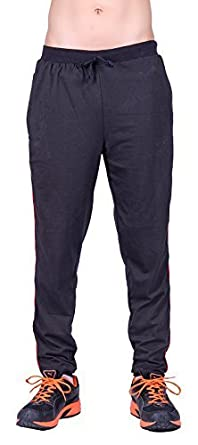 DFH Men's Cotton Track Pant Men's Track Pants at amazon
