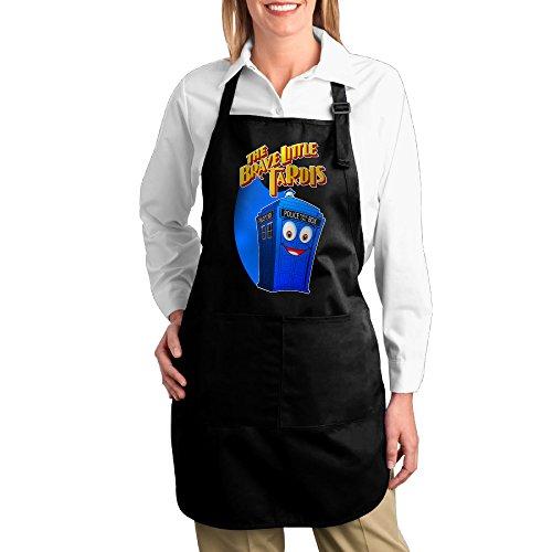 Brave Little Tardis Kitchen Grilling Apron (Karen Smith Costume)