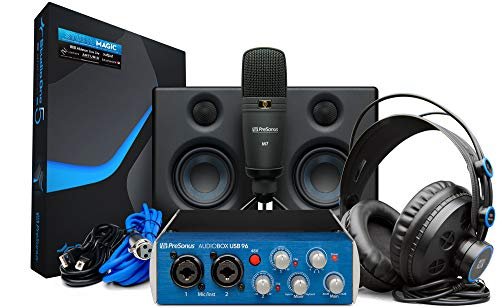 PreSonus AudioBox Studio Ultimate Bundle con Paquete de Software de Grabación