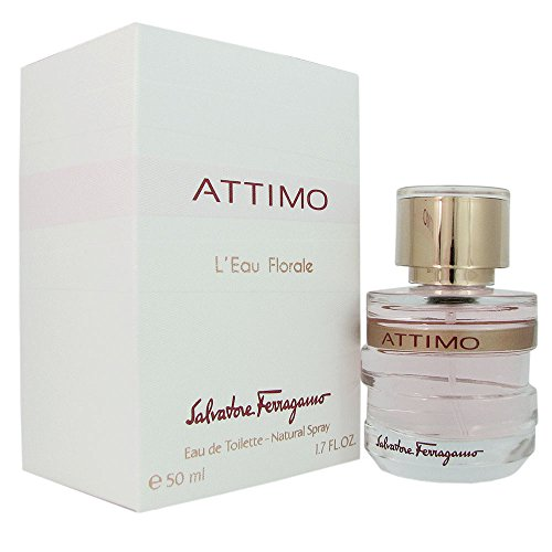 (Salvatore Ferragamo Attimo L'eau Florale Eau de Toilette Spray for Women, 1.7 Ounce)
