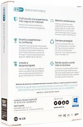 ESET Nod32 Antivirus 2020 + USB 16 GB con sistema de rescate [Caja física]: Amazon.es: Software